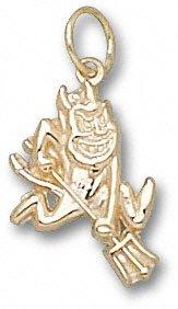 Arizona State Sun Devils 10K Gold Sparky Pendant