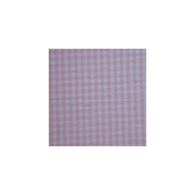 Patch Magic 39 By 60-Inch Baby Pink And White Gingham Check Fabric Dust Ruffle Bed Skirt, Twin front-8766