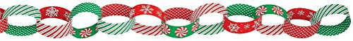 garland chain link ppr christmas