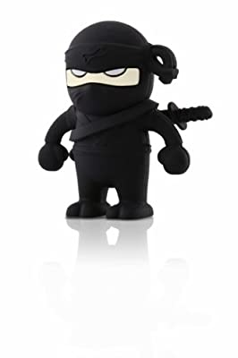 Bone Collection 4GB USB Drive - Ninja Black by Bone