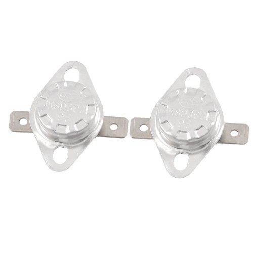 2 Pcs 95C Normal Closed Temperature Controlled Ceramic Thermostat KSD301