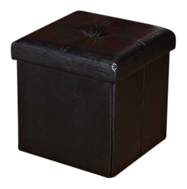Cheap buy square leather storage ottoman your blog title for Cheap storage ottomans