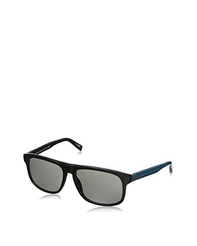 E. Zegna Occhiali da sole EZ0003 (57 mm) Nero/Blu
