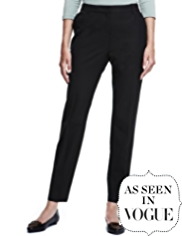 Autograph Straight Leg Trousers with Wool