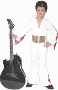 Child's Elvis Rock Star Costume (Size:X-large 12-14)
