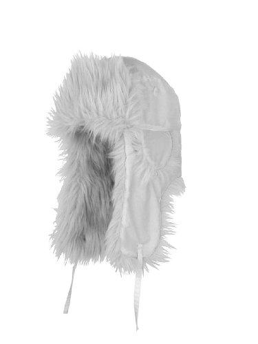 RedHot® WHITE FOX Wintermütze Fliegermütze