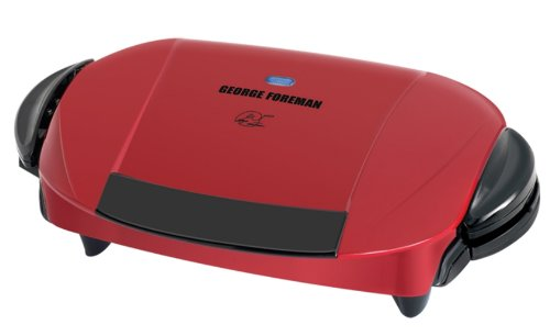 George Foreman GRP0004R The Next Grilleration Grill, Red