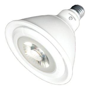 Led - 19 Watt - Par38 - 120W Equal - 2600 Candlepower - 40 Deg. Flood - 4000K Cool White - 120/277 Volt - Green Creative 40705