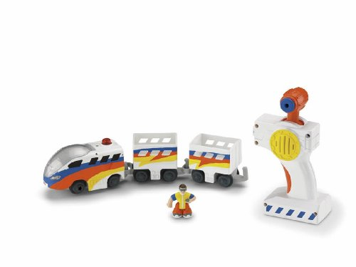 Fisher-Price GeoTrax Rail and Road System RC Set with Figure Assortment (Geotrax Figures compare prices)