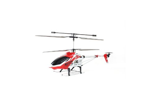 SYMA S033G Gyro Metal Frame Coaxial 3 Channel  Ready to Fly Helicopter   Colours Red and Yellow