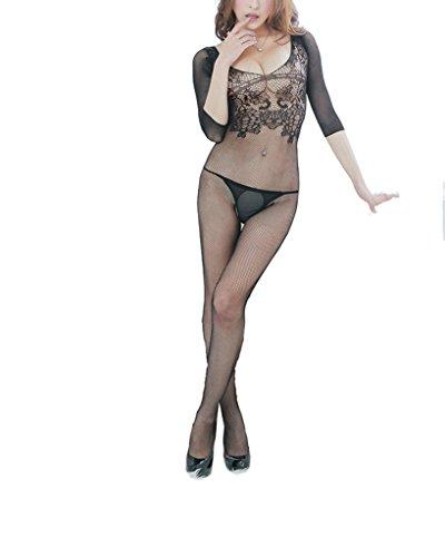 Yinglite-Sexy-Body-Stockings-pour-femme-rotique-Combinaison-Ouverte-gabelung-en-rseau-Lace-Ensemble-Lingerie-ouvert--lentrejambe-Femme-Lingerie-Jarretires