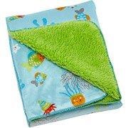 Little Bedding by NoJo Ocean Dreams Velboa Blanket - 1