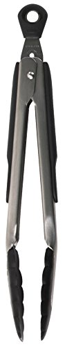 OXO Good Grips 9-Inch Locking Tongs with Nylon Heads