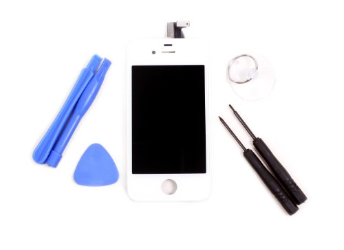 Lcd Display Digitizer Touch Screen Glass Assembly For Iphone 4