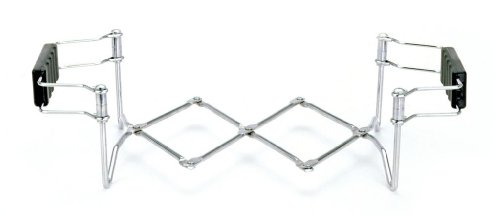Norpro Stainless Steel Expanding Folding Trivet Hot Plate Pot Pan Dish Holder (Folding Dish Pan compare prices)