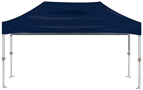 Kd Kanopy Xtf200Nb Xtf Aluminum Frame Indoor/Outdoor Portable Canopy, 10 By 20-Feet, Navy Blue