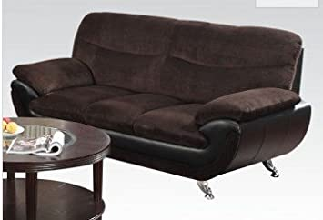 Wilona Fabric Sofa in Chocolate by Acme Furniture