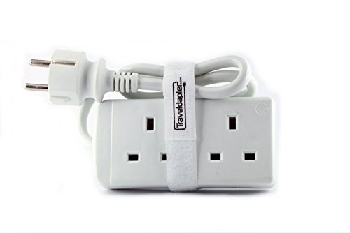 travel-adapter-egypt-multi-extension-lead-2-pin-earthed-plug-2-uk-sockets-moulded-schuko-type-f-plug