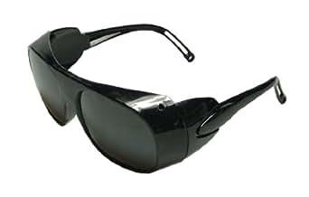 Lunette de sécurité avec verre noir, lunette de soleil