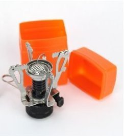 Ultralight Backpacking Canister Camp Stove with Piezo Ignition 3.9oz!
