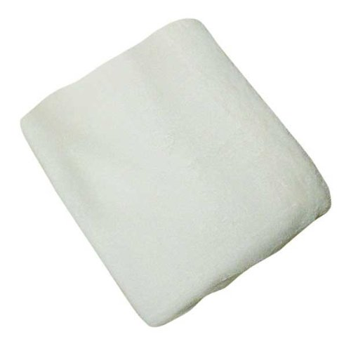 NOJO Changing Table Cover Coral Fleece - Ivory