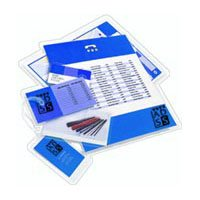 Universal Clear Laminating Pouches, 100/Box (84680)