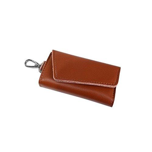 huatuor-2016-fashion-auto-portachiavi-cover-sei-ganci-porta-chiavi-in-pelle-caso-chiave-marrone