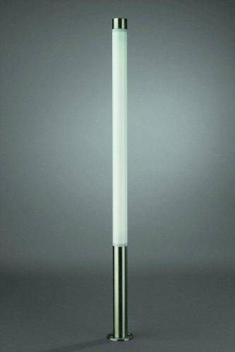 Edelstahl Außenleuchte Wegeleuchte Leuchtstab Stableuchte Stablampe Standleuchte LM