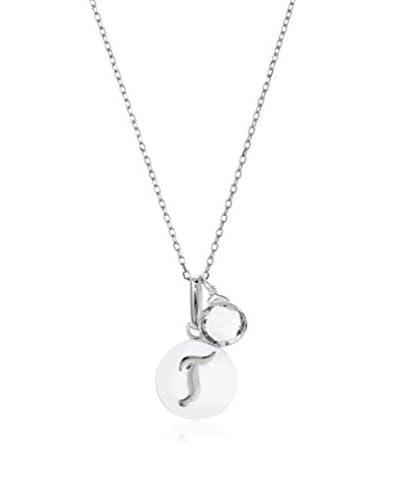 Anzie T Disc Pendant Necklace