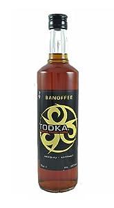 TODKA Banoffee Vodka 70cl Bottle