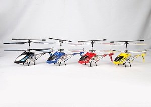 Lian Sheng Ls-222 Mini 3.5-Channel Infrared Remote Control Rc Helicopter With Built-In Gyroscope (Blue)