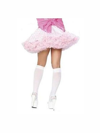 Short Ruffle Deluxe Petticoat For Costumes - ONE SIZE