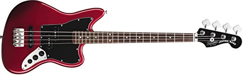 Squier by Fender Vintage SS Modified Special Jaguar Bass - Candy Apple Red (Guitar Fender Squier compare prices)