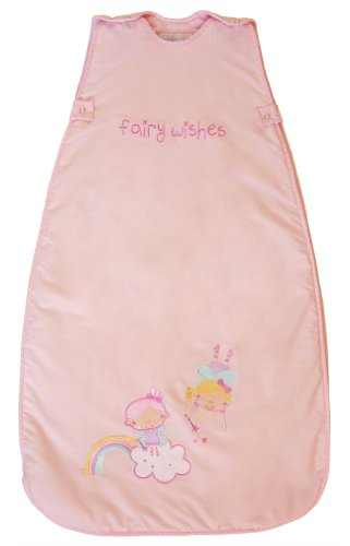 The Dream Bag Baby Sleeping Bag Fairy Wishes 18-36 months 2.5 TOG - Pink