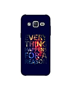 Samsung galaxy J2 pro ht003 (116) Mobile Case by Mott2 - Every Thing Happens For A Reason