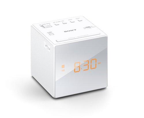 Sony ICFC1 Alarm Clock Radio, White