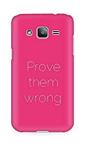 AMEZ prove them wrong Back Cover For Samsung Galaxy J2