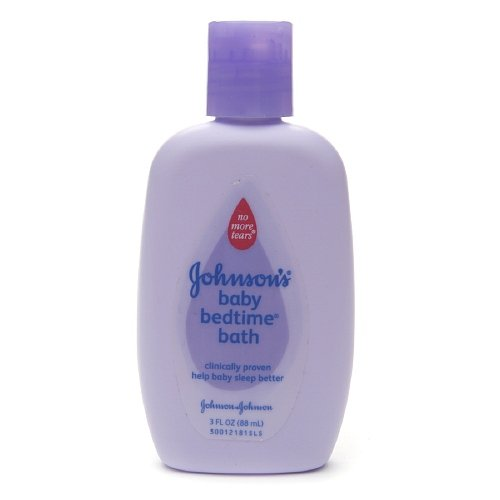 Johnson's Baby Bedtime Bath, Trial Size 3 oz (88 ml) - 1
