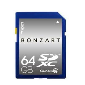 永久保証 BONZART BONZ64GSDXC UHS1  sdxcカード 64gb SDカード SD メディア 人気 売れ SDHC Class GB 記録 記憶 sdhc メモリー カメラ カード パソコン ブリスタパッケージ (64G Class 10)