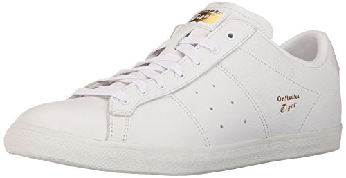 Onitsuka Tiger Lawnship Classic Tennis Shoe,White/White,12 M US Men's/13.5 W US Women's