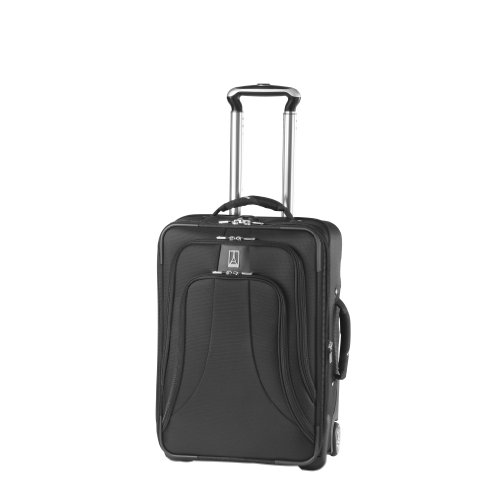 Travelpro Luggage WalkAbout LITE 4 20-Inch Expandable Business Plus Rollaboard, Black, One Size