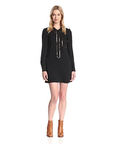 See by Chloe Women's Sequin Trim Dress
