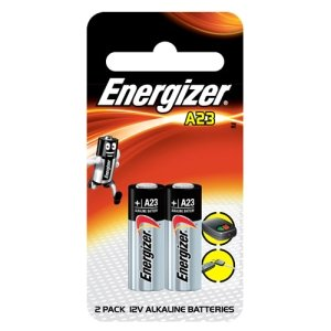Energizer A23bpz-2 Photo Battery, 12 Volt