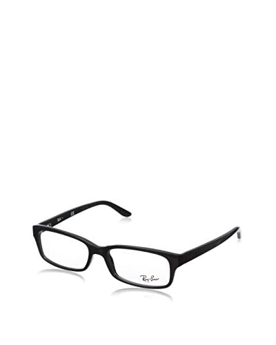 Ray-Ban Rx5187 Rectangular Eyeglasses, Shiny Black