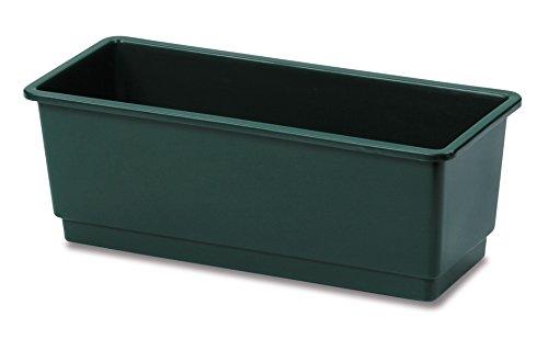 Cassetta fiori cm.40 verde - Vasi-sottovasi-balconette STEFANPLAST