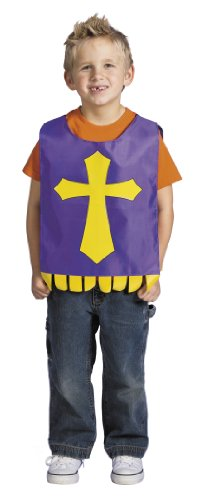 "Cross Religious Costume - Easter - Christmas Party. 12"" X 17 1/2"". Nylon."