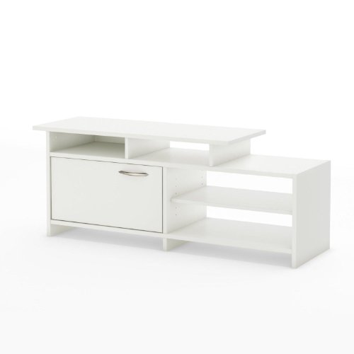 South Shore Grace TV Stand, Pure White picture B008DS67XA.jpg