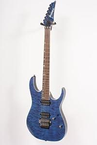 ibanez rg920qmz premium electric guitar cobalt blue surge musical instruments. Black Bedroom Furniture Sets. Home Design Ideas