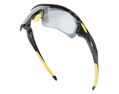 4796f13c43200 Hulislem Wayfarers Style 70mm Sport Polarized Sunglasses -Case Color May  Vary Women Sports Men Sport