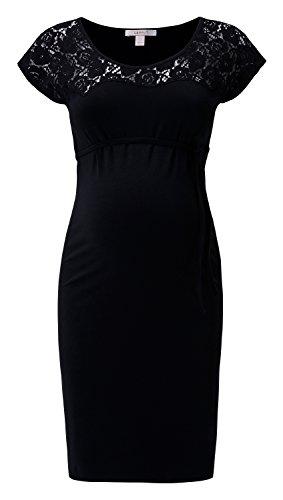 Esprit -  Abito  - Felpa - Maniche lunghe  - Donna nero 40